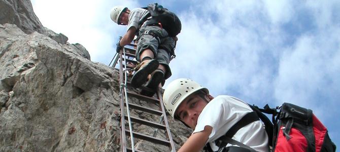2003 07 – Hindelanger Klettersteig