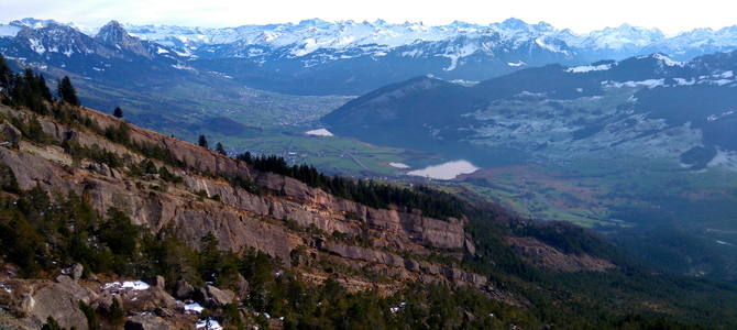 2015 12 – Bergsturzspur Gnipen